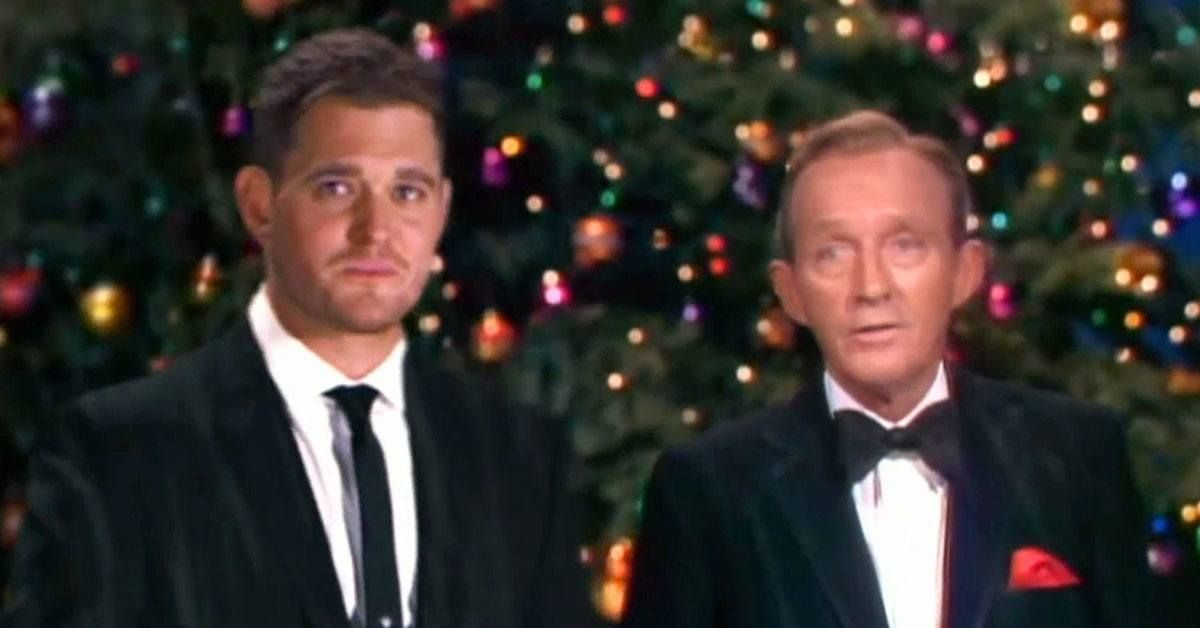 Michael Bublé and Bing Crosby Singing 'White Christmas' Will Put You in the Mood