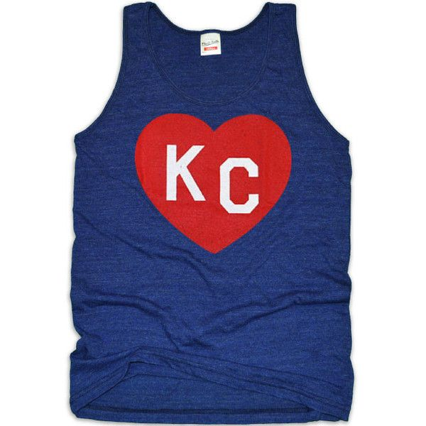 Kansas City Heart Tank/T-Shirt bt63wxnV1d