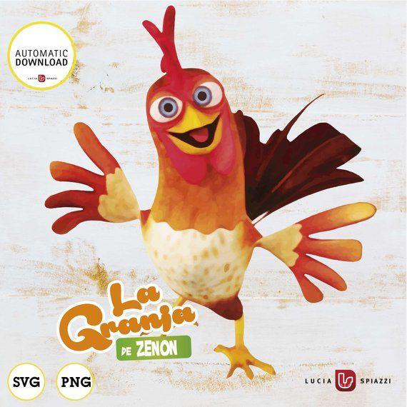 La Granja De Zenón Clipart 21 Imágenes Digitales De Etsy Farm Party Farm Birthday Coloring Books