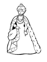 coloring pages kids fairy tale king queen # 5