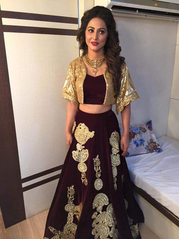 Hina Khan Akshara Ipriya0987 Twitter Dresses Pinterest