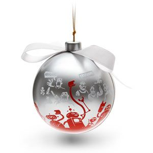 A tree ornament with a special surprise Comes in a festive ...