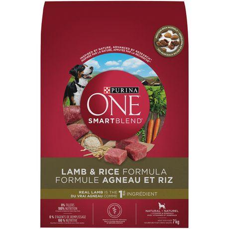 Purina One Smartblend Natural Dry Dog Food Lamb Rice Formula
