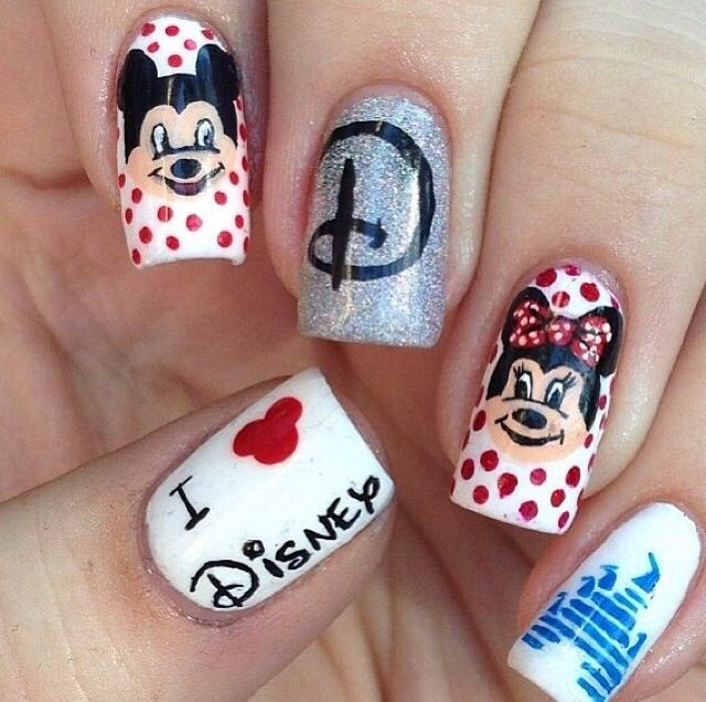 Disney nail designs | nail\'d it | Pinterest | Disney nail designs ...