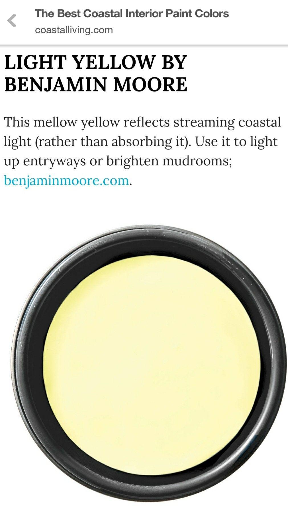 benjamin moore light yellow coastal interiors paint on lake cottage interior paint colors id=91460