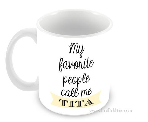TITA Mug with Choice of 4 Mug Types and Colors by InspiredTrends