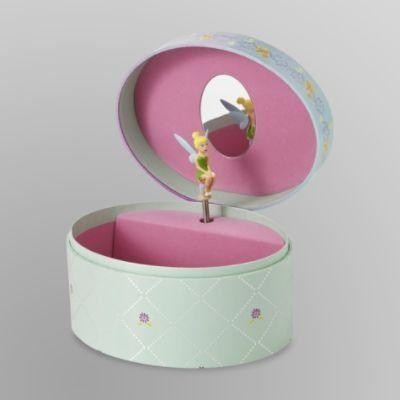 Disney Fairies Musical Jewelry Box by Nelson Pine Industries Ltd