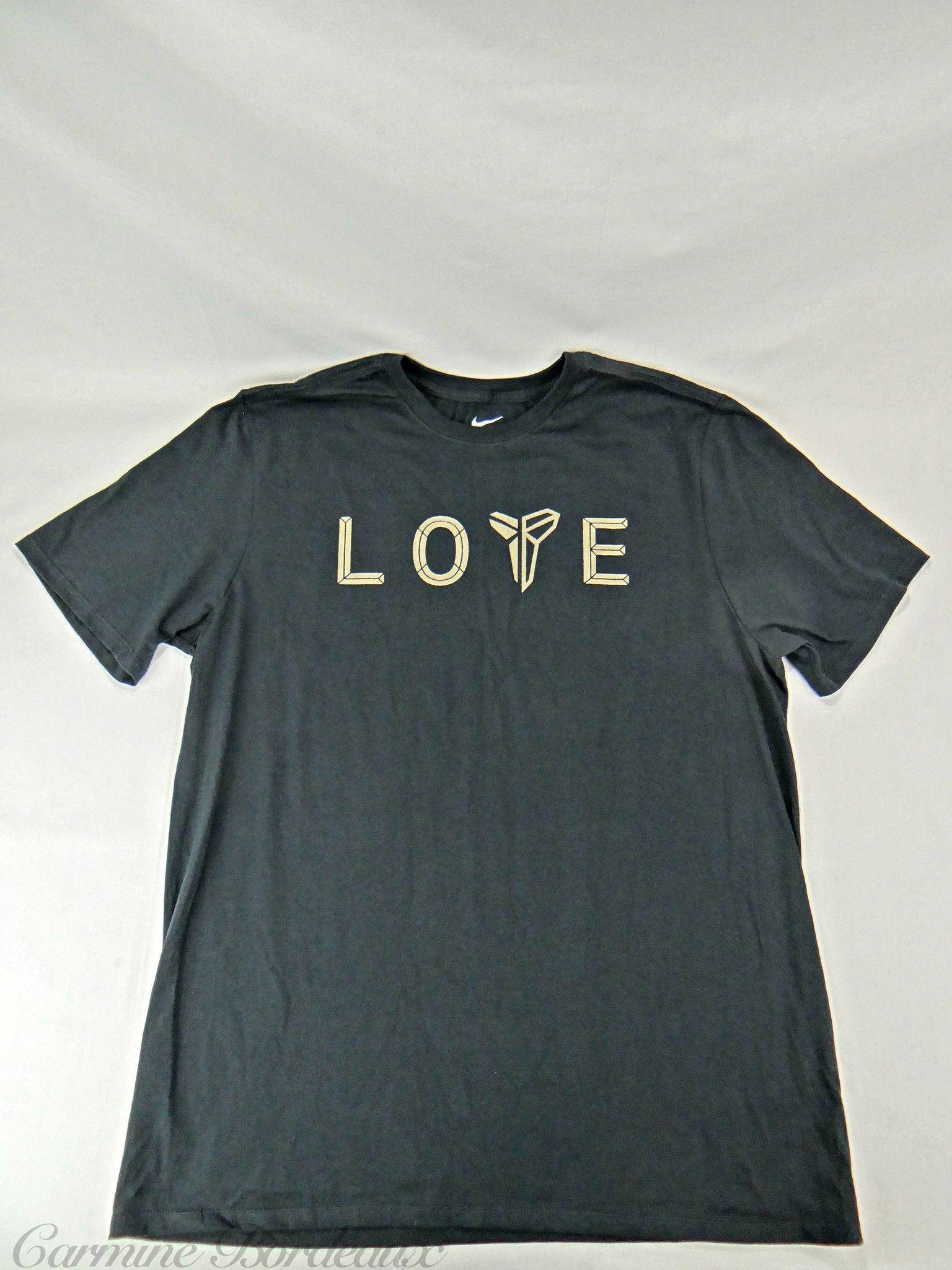 Nike Tee Kobe Bryant Retirement Mamba Day   Love T-Shirt  0c24376e551b