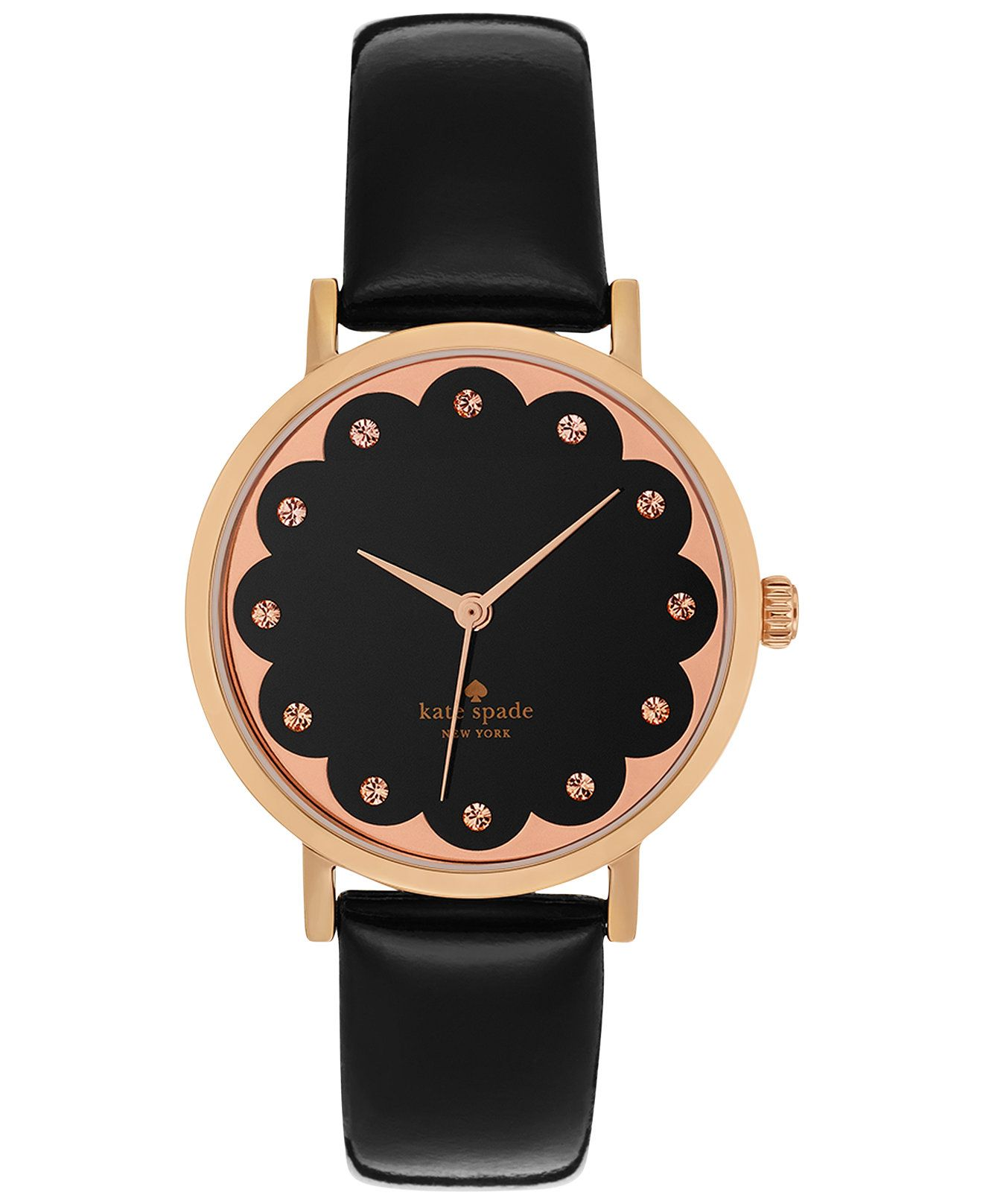 Scalloped watch #sponsored