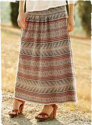 Pima Cotton Huancayo Skirt