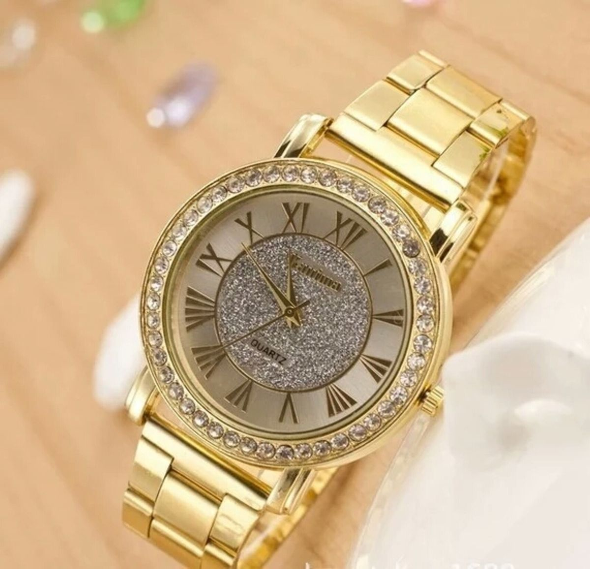 b285d7e3120 Relógio Feminino Kanima - Aço Metal Inox Quartz Comprar online relógio da  Marca Kanima Importado da China no Brasil