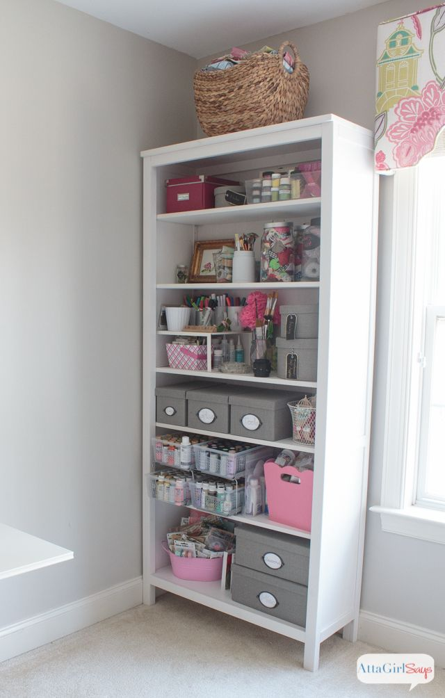 Feminine Home Office & Craft Room Tour