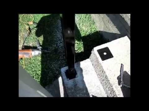 Best How To Install White Vinyl Composite Railing Post To 400 x 300