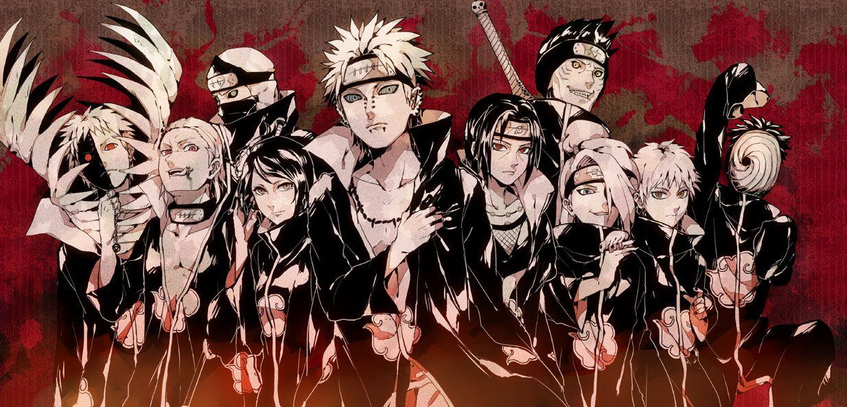 Naruto Wallpapers Wallpaper Naruto Shippuden Naruto Wallpaper Akatsuki