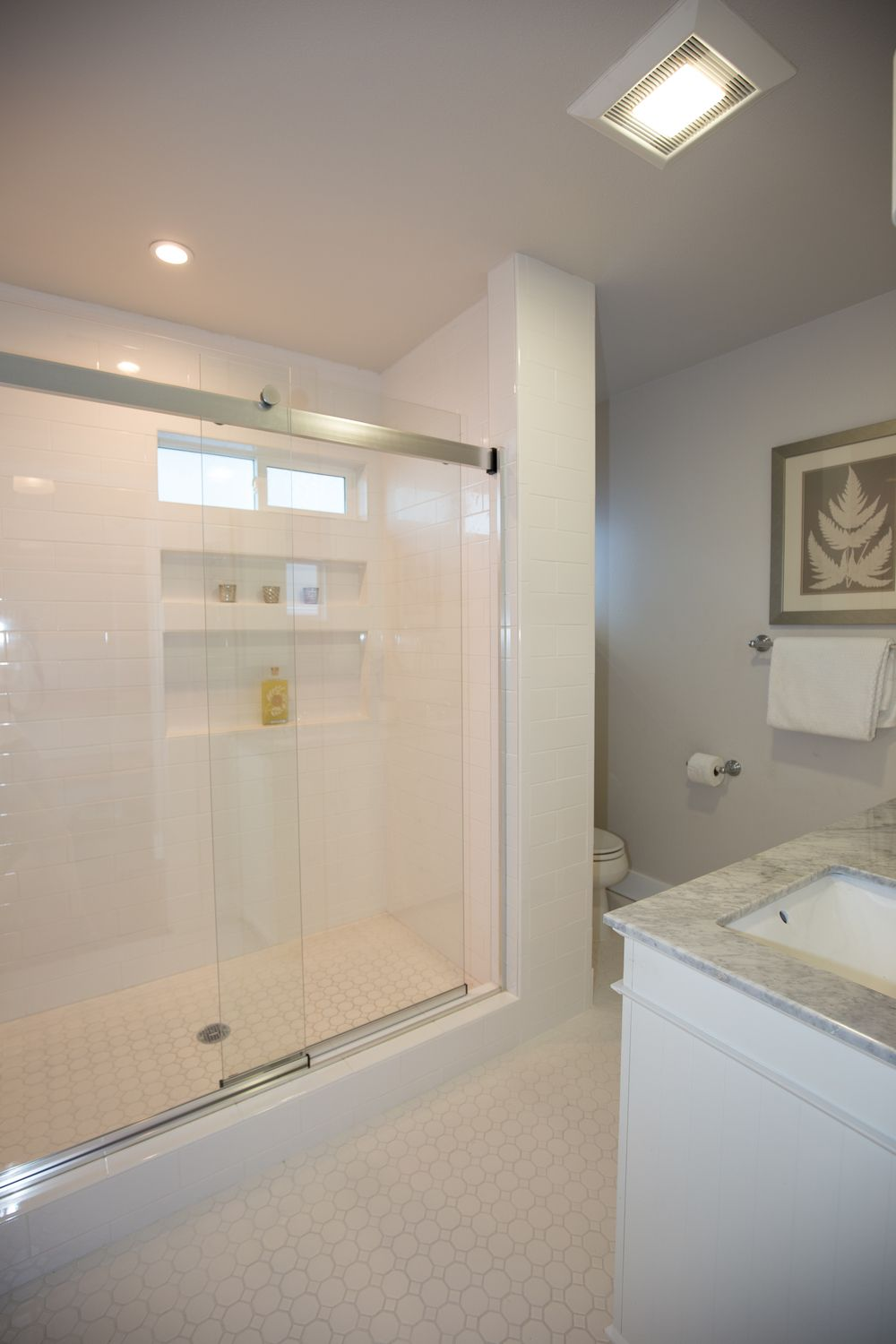 Elegant shower in master bath