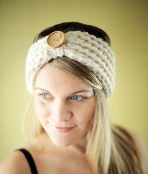 Easy Crochet Pattern Chunky Headband Beginner The Baltimore 3 Sizes