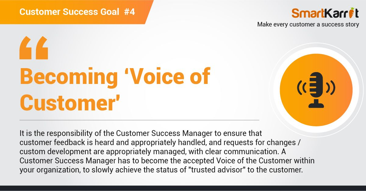 Customer Success Manager Goal Success Goals Success Goals
