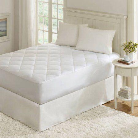 Comfort Classics Quiet Nights Waterproof Mattress Pad, White