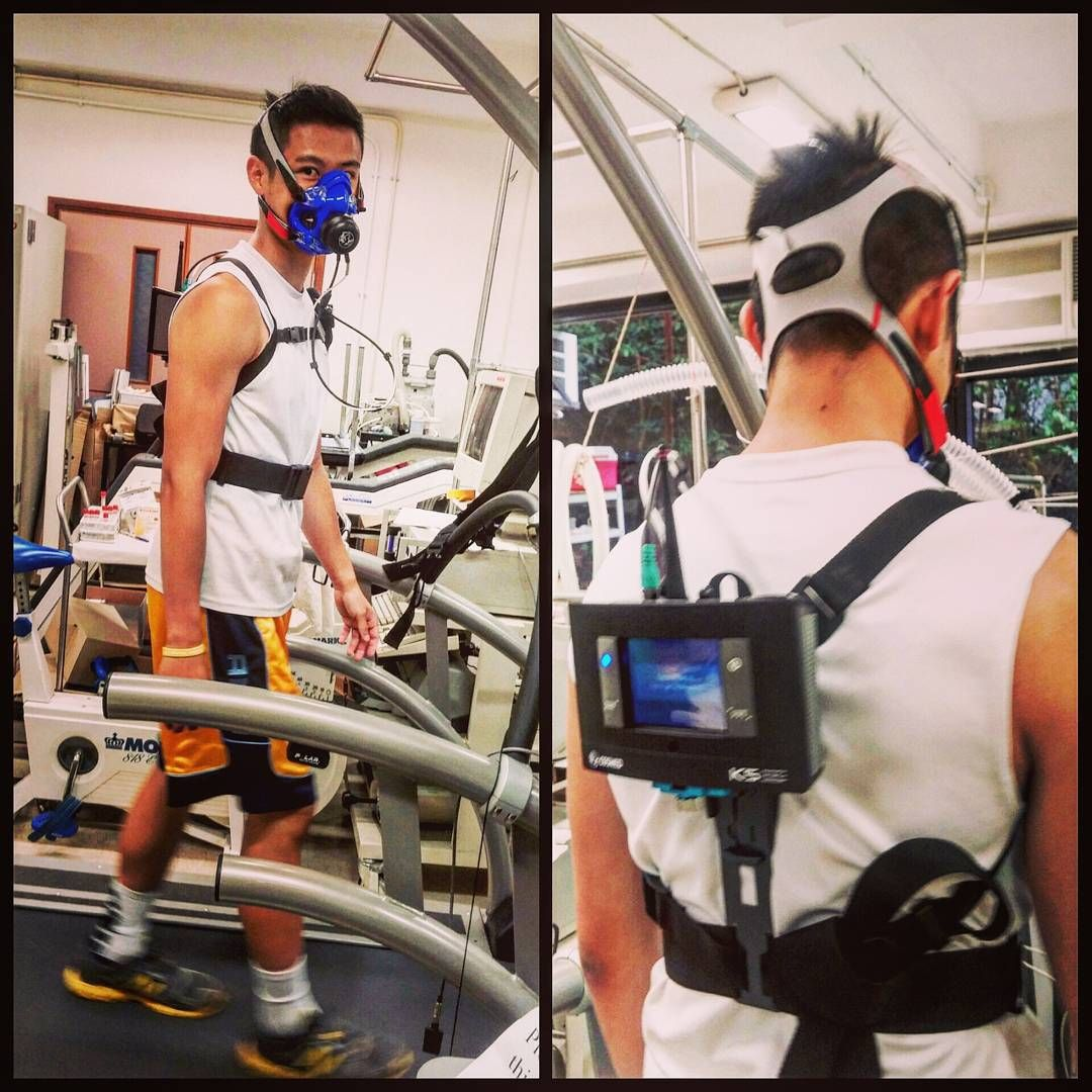 8 7 15 K5 I M So Glad To Be The First Subject To Perform Vo2 Max Test Using K5 In Hk Cosmed