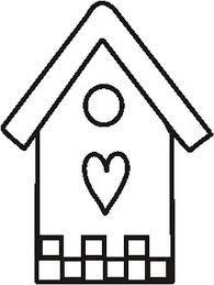 Casa A Forma Di Cuore Disegno Da Colorare Pagine Da Colorare