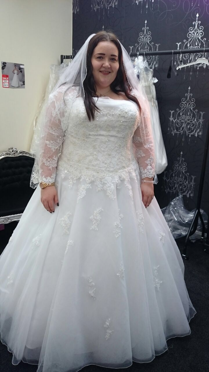 My plus size wedding dress- sincerity bridal 3637 | Wedding ...
