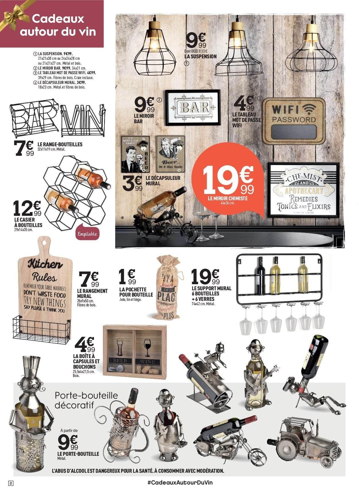 Catalogue Prospectus Pub Centrakor Vos Promos Fr Avec Images Decapsuleur Mural Casier A Bouteille Parement Mural