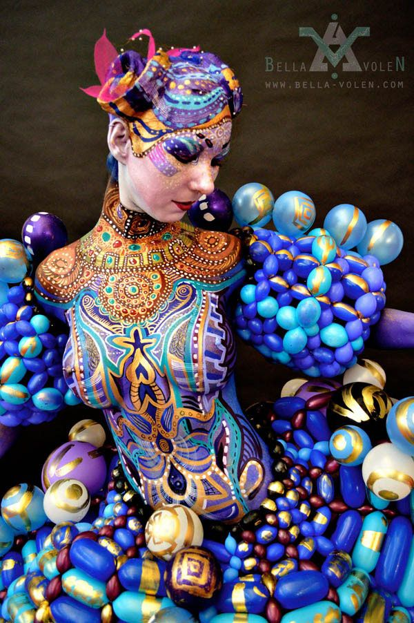 25 Amazing Body Paintings and Art works from World Body ...