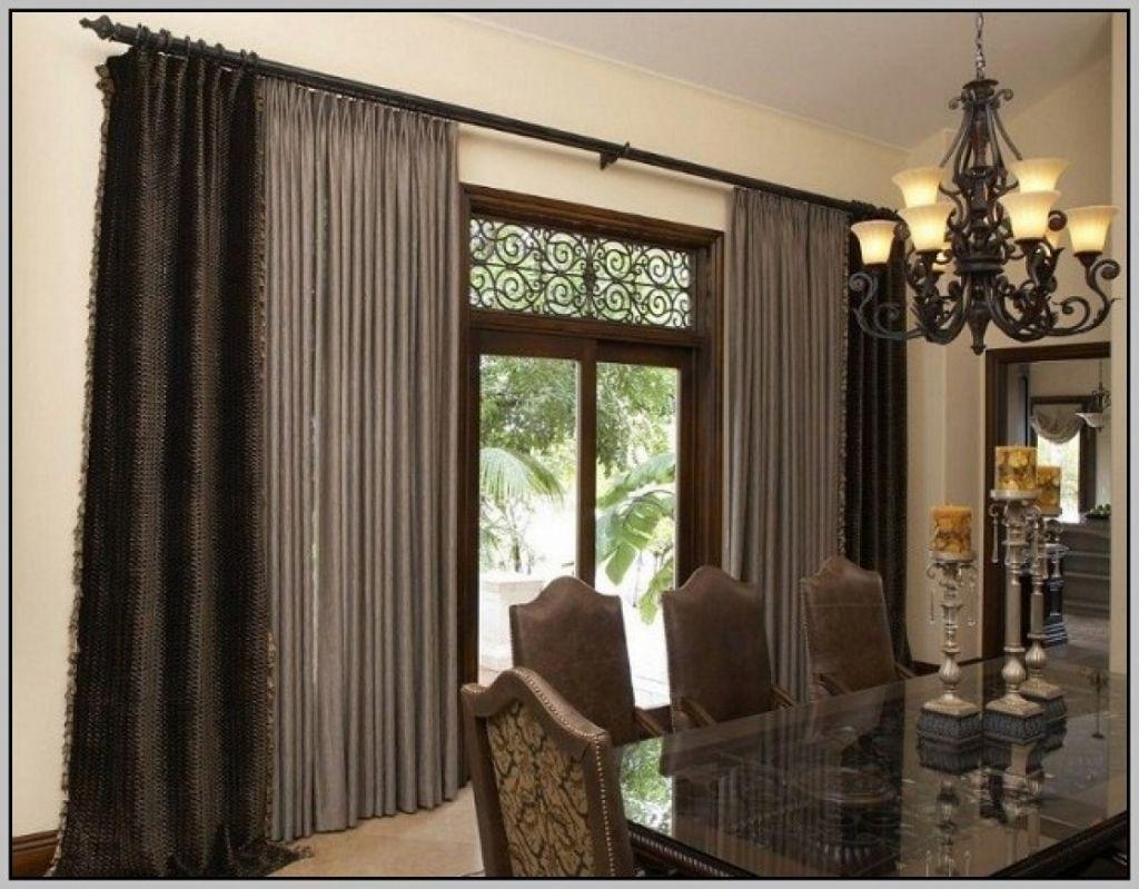 180 Inch Curtain Rod Dimensions