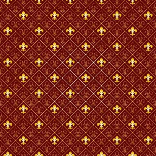 4 fleur de lys pattern tileable vector background http www