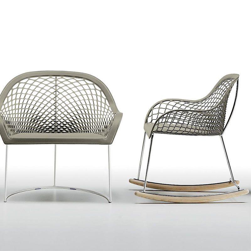 Rocking Chair Guapa Dn Mobilier Design Italien Haut De Gamme Mobilier Design Design Italien Et Fauteuil Osier