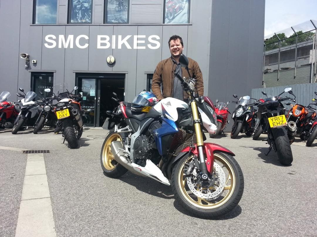 Have fun on your #Honda #CB1000 Anthony thanks again from Team SMC pal  smcbikes.com 01142525454 http://ift.tt/2r32bUS