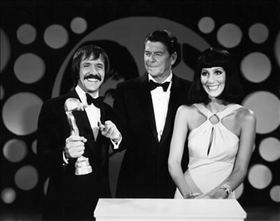 Sonny & Cher with Ronald Reagan | and the beat goes on