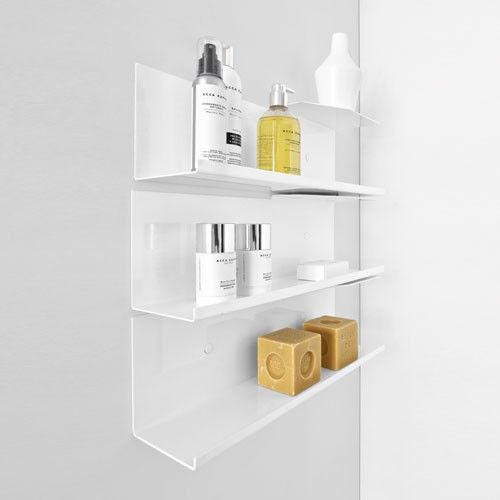 Design Your Own Bathroom Layout: Modern Bathroom Shelves