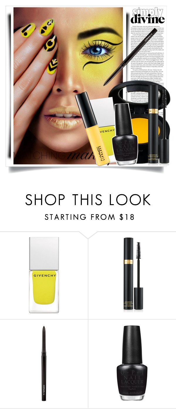 """Matching Make up"" by aislinnhamilton1993 ❤ liked on Polyvore featuring beauty, ASOS, M.A.C, Givenchy, Tom Ford, MAC Cosmetics and OPI"