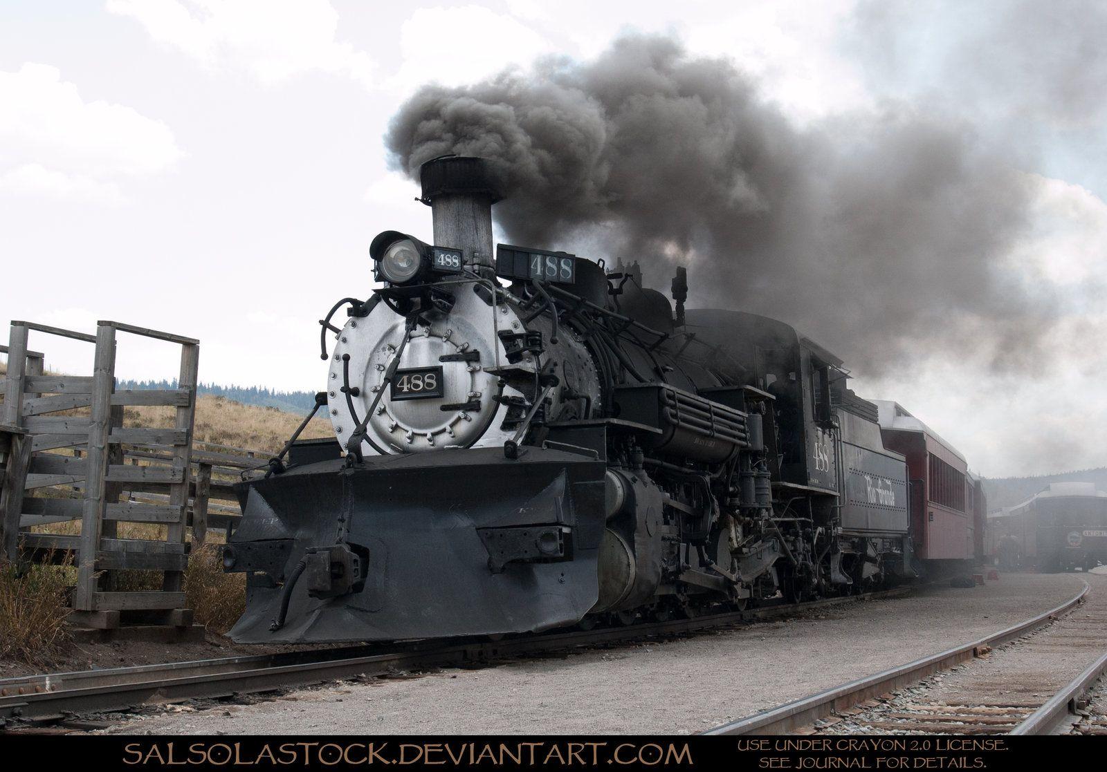 Steam Train 1 by on deviantART