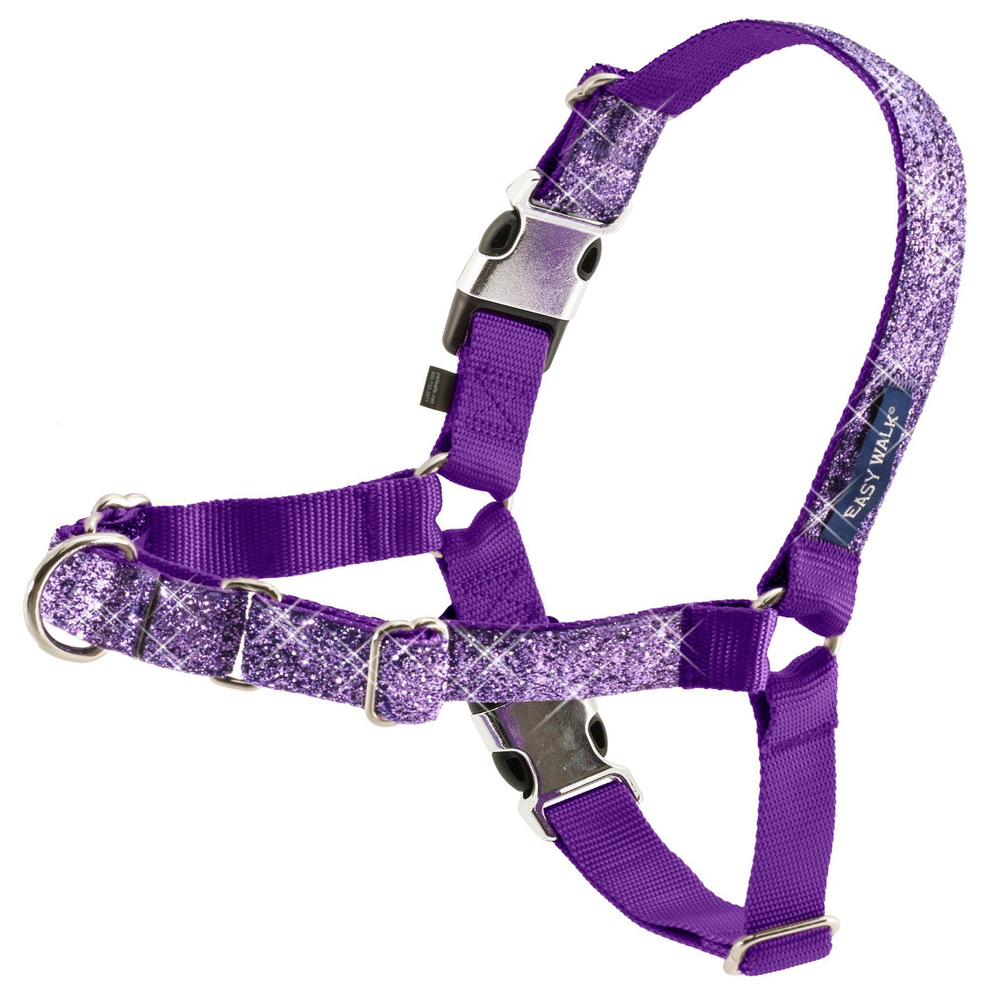 Petsafe Easy Walk Harness In Purple Bling Medium Dog Training Harness Aggressive Dog Dog Harness