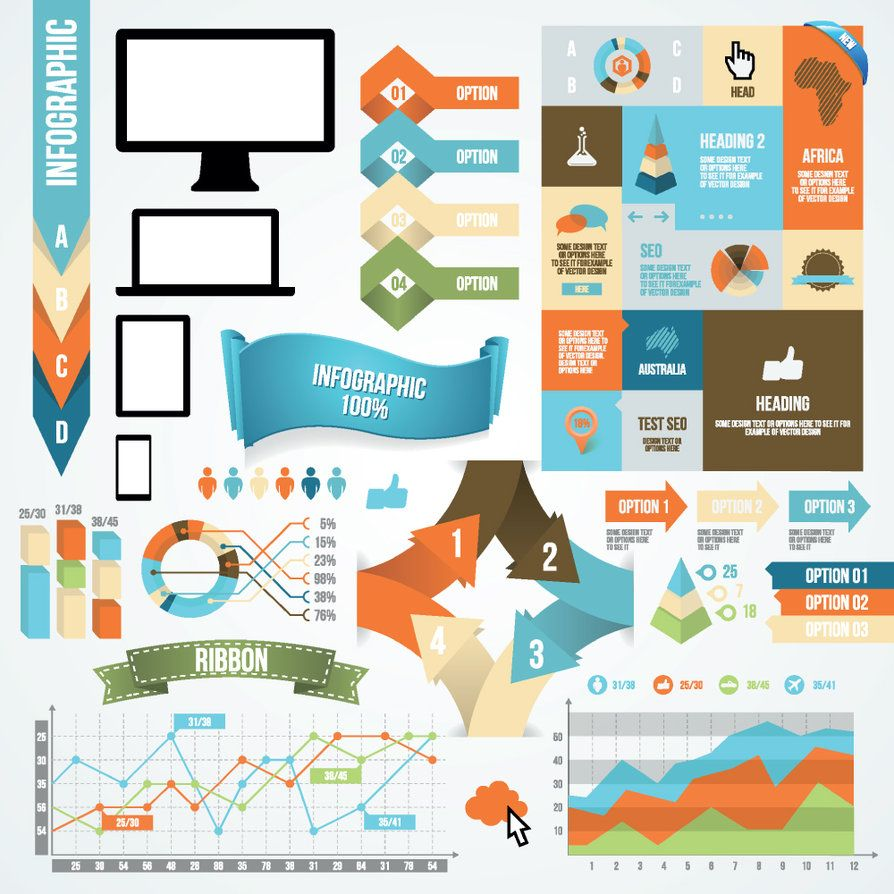 art infographic and design elements on pinterest : diagram design - findchart.co