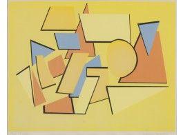 Ernst Mether-Borgström (1917-1996)* Sommitelma, serigrafia, sign. 1969, 65x65
