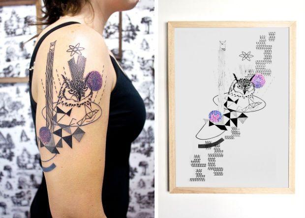 As tatuagens incríveis do estúdio argentino Kizun Kizun - Follow the Colours