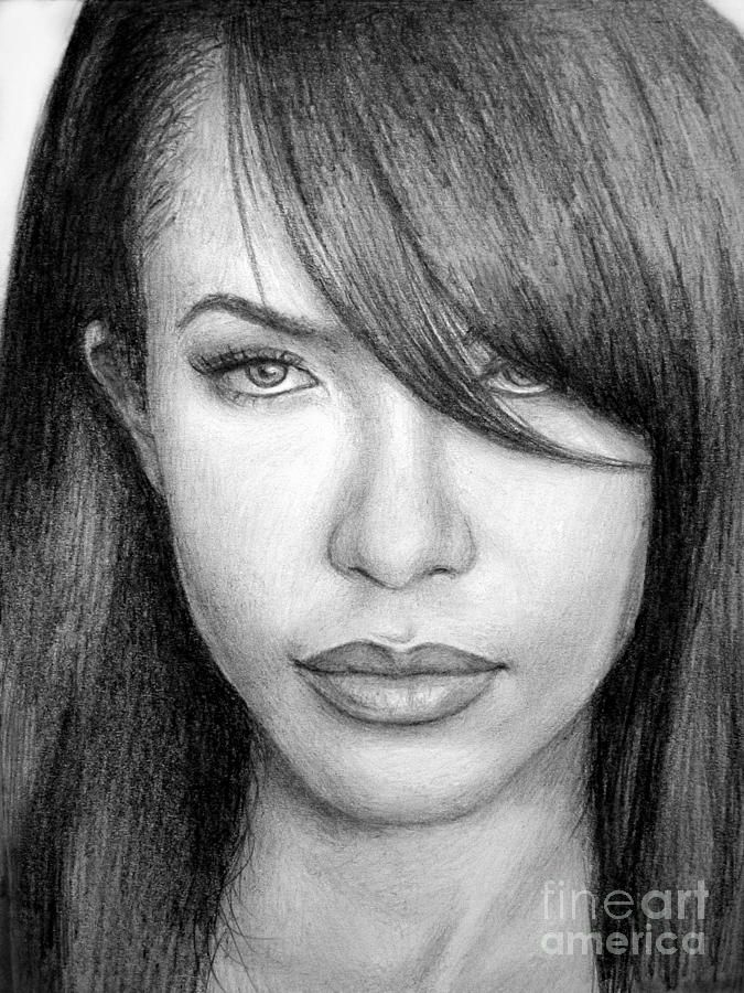 Aaliyah Drawing