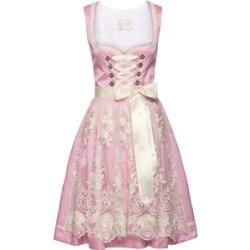 Mididirndl für Damen #rosaspitzenkleider
