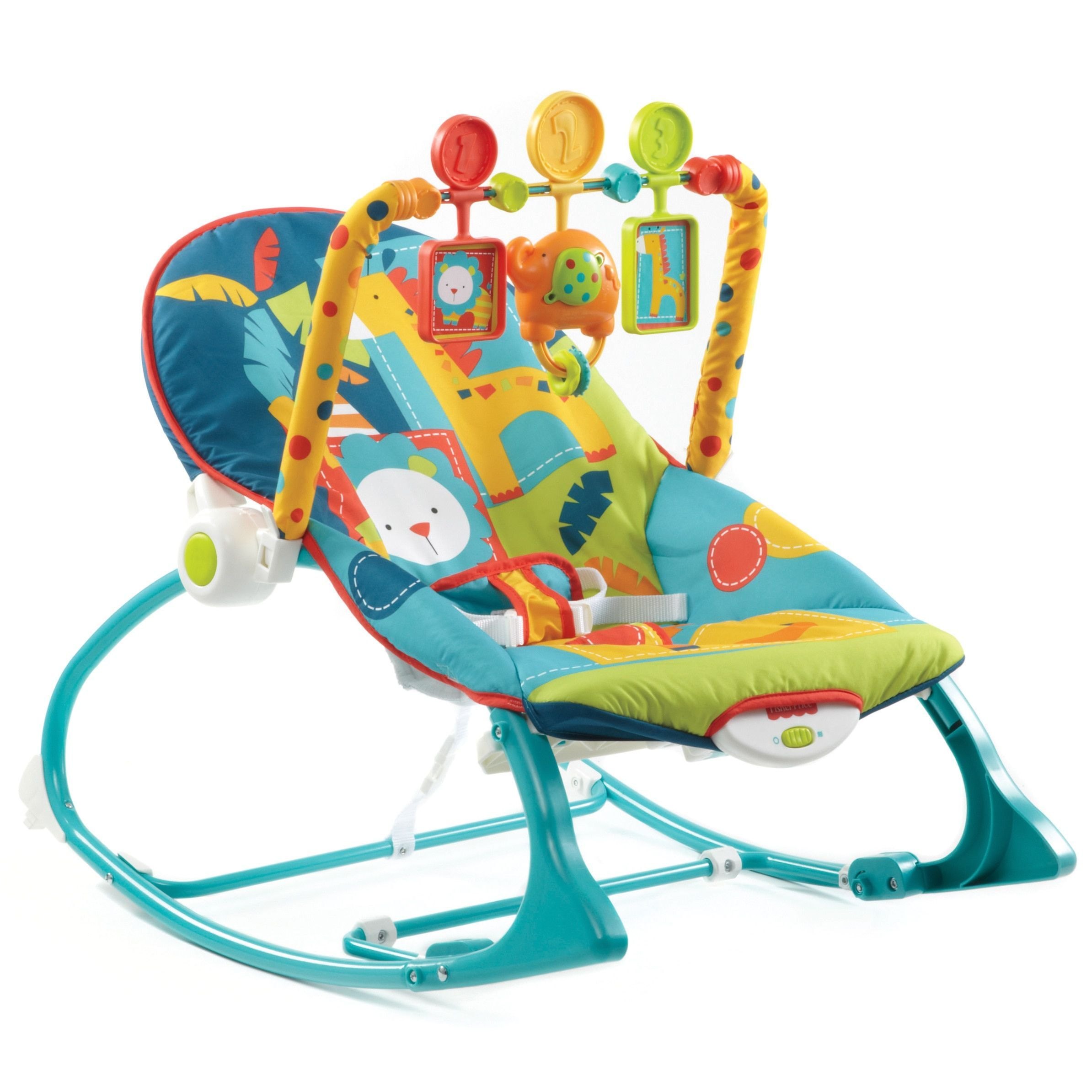 Fisher Price Dark Safari Infant to Toddler Rocker
