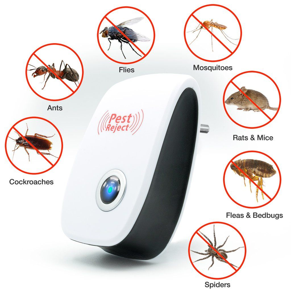 Buy One And Get One FREE Ultrasonic Pest Repellent Pest