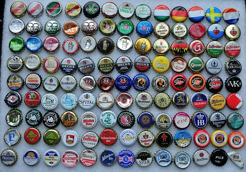 German Found Bottle Caps Bottle Cap Bottle Hemisphere