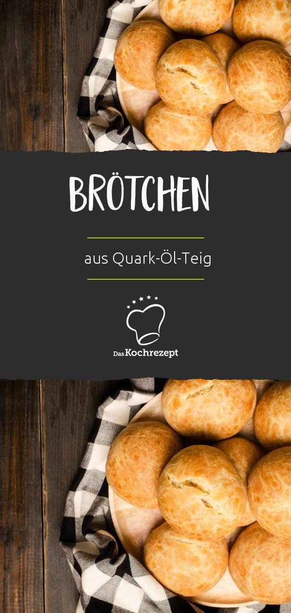 Quark-Öl-Teig-Brötchen #pizzateig