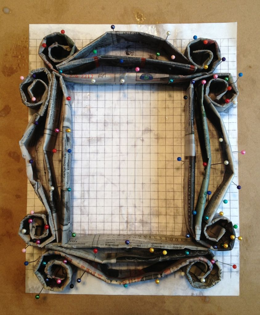 Friends Peephole Frame | Paper mache, Crafts and Crafty