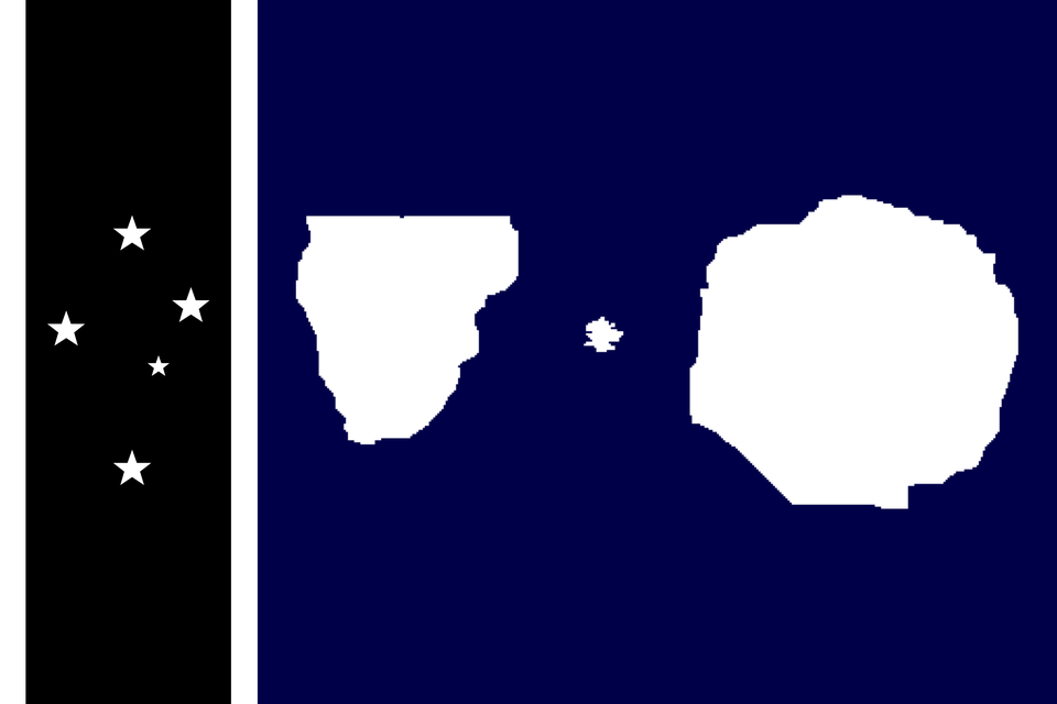 Flag I Made For The Antarctic Empire Showing All Territories Because Their Capital Isn T Even In Antarctica Anymore Rip Smpeart In 2020 Antarctic Antarctica Empire