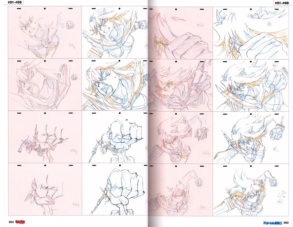 Kill La Kill Trigger Studios Groundwork Vol  Art Book  Anime