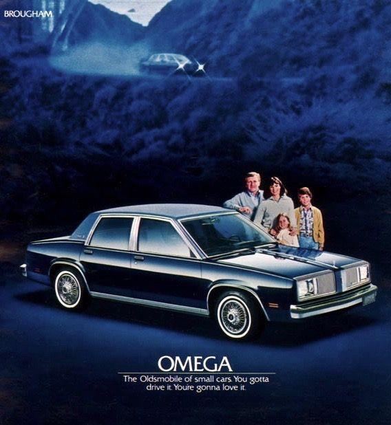 1980 Oldsmobile Omega Brougham Sedan