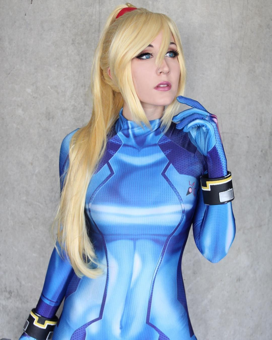 zero suit samus cosplay by beautifulxxpoison on DeviantArt